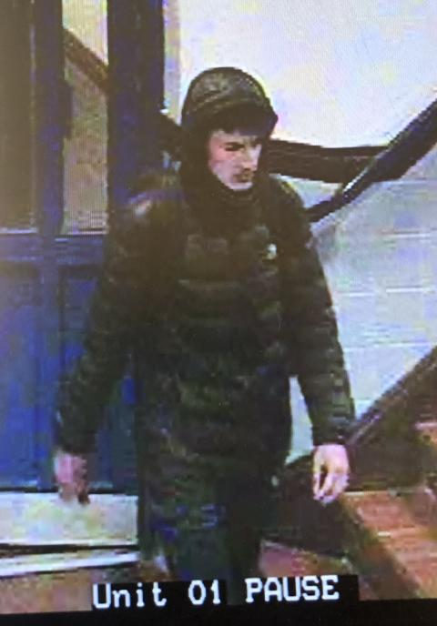 Image released of man sought after man slashed across face in Hackney