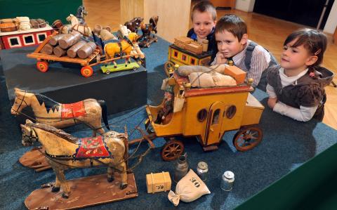 Traditionelle Januar- Ausstellung  in Bergstadt Annaberg- Buchholz