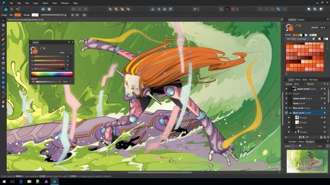 Affinity Designer for Windows screenshot