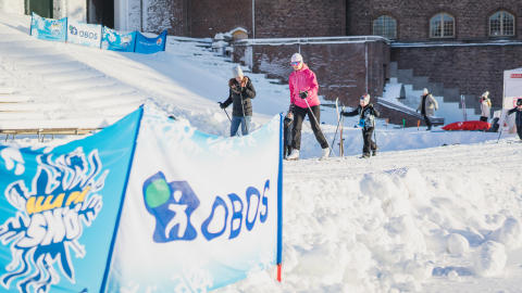 Alla på snö inleddes under World Snow Day den 21 januari