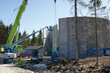 Nytt vattentorn byggs i Grytingen