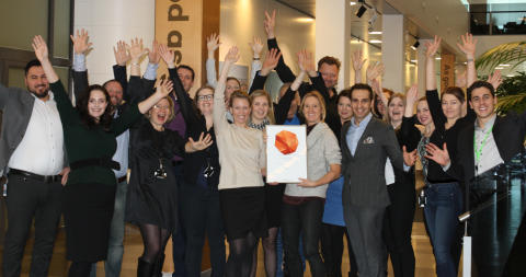 ​We are one of Sweden's most attractive employers!