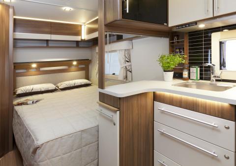 Polar 520 CTH säng (2014)