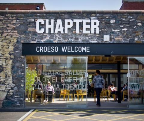 Christmas at Chapter Arts Centre #gofullcircle