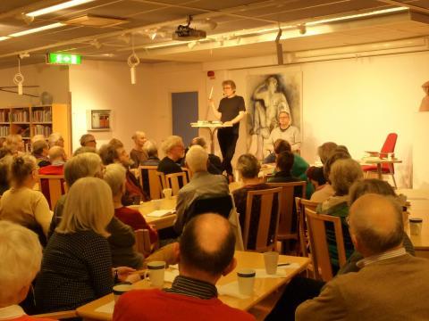 Vårens program på Lindesbergs stadsbibliotek