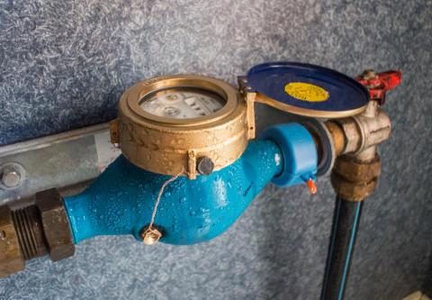 Införande av vattenmätare för företag i Båstad