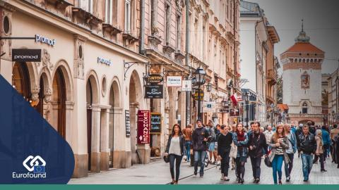 Share of people in Poland struggling to make ends meet halved in 15 years