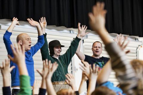 Koncert for børn på Taastrup Teater