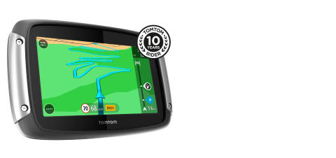 TomTom lanserar RIDER 410 Great Rides Edition