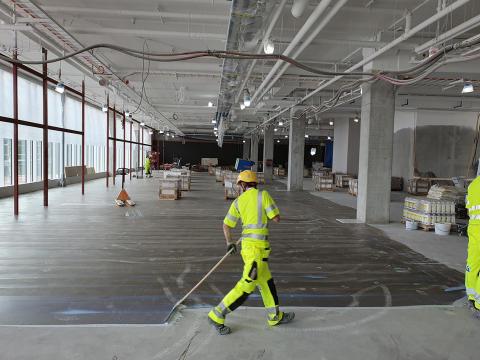 Golvimporten helhetsleverantör i Swedavias storsatsning på Landvetter Airport