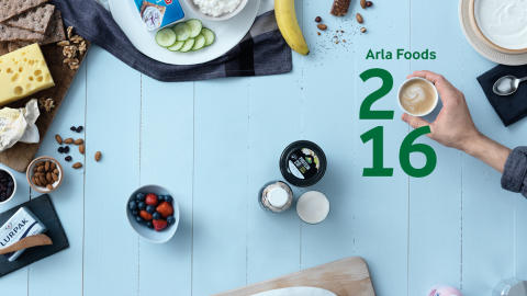Arla Foods UK delivers excellent branded growth in a volatile market as Arla Foods amba 2016 full year results announced