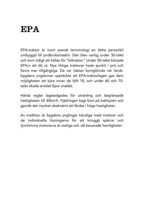 EPA - Martin Bogren - utställningstexter