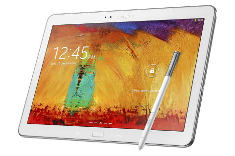 Samsung GALAXY Note 10.1, 2014 Edition giver dig ultimativ produktivitet i et stilrent design