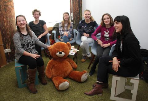 Genial sozial: Oberschule Delitzsch setzt sich für Bärenherz ein