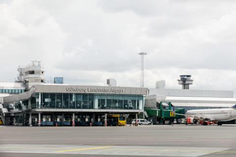 Bioflygbränsle tankas återigen på Göteborg Landvetter Airport