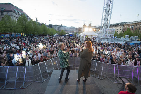 City of Stockholm satisfied with Eurovision Song Contest: Enormous involvement made the music festival magical