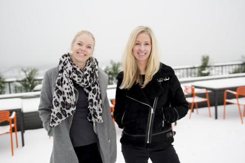 Marianne Wiik Øberg og Ingunn Bratteberg