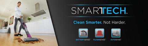 BLACK+DECKER™ Announces New Lithium Ion Vacuums with SMARTECH™ Sensing Features