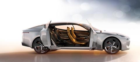 Konseptbilen Kia GT, 2011