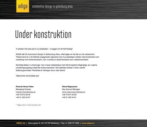 ADIGA – ny kund hos Karl Forsberg kommunikation