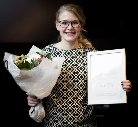 Sofie Jonsson vinnare av Female Leader Engineer 2015