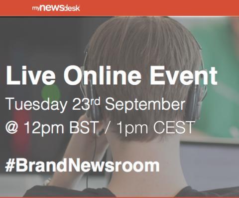 """【オンラインイベント】 Social Media Week London """"Rise of the Brand Newsroom"""" ※日本からも参加可能"""