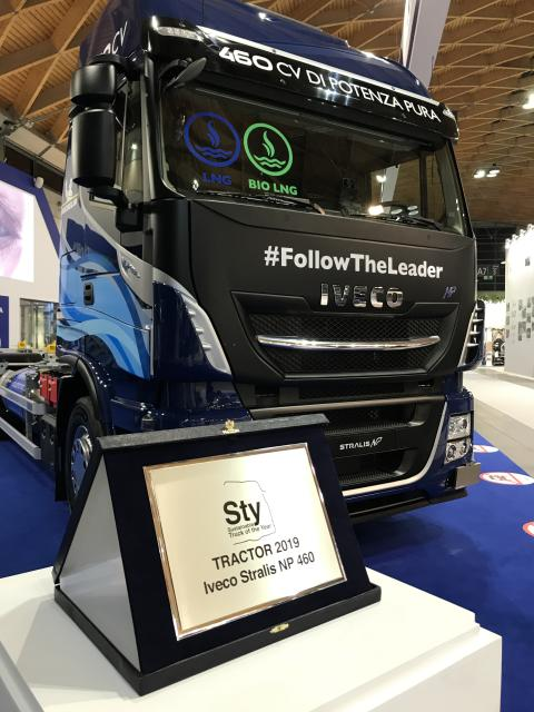 Stralis NP 460 hk - Sustainable Truck of the Year 2019