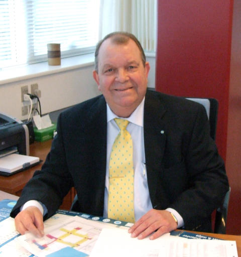 Regionsdirektør Poul Krogh fylder 70 år. Reception i Søborg den 4. februar