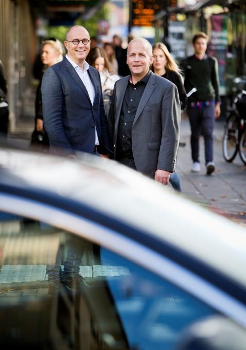Johan Quist och Martin Fransson, CTF. Foto Øyvind Lund