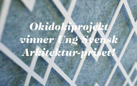... Svensk Arkitektur 2015 för den fantastiska inredningen av Vasakronans