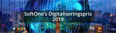 SoftOne lanserar Digitaliseringspris