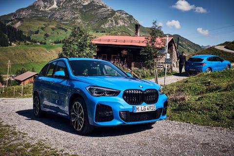 BMW X1 xDrive25e og BMW X2 xDrive25e