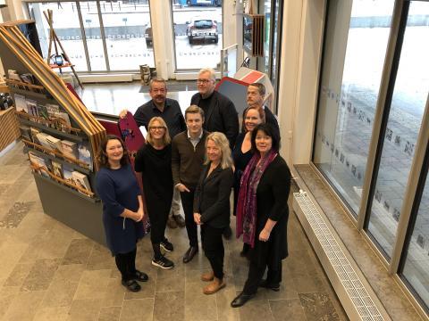 Prrojektgrupp coh styrgrupp för Visit Hornborgasjön.
