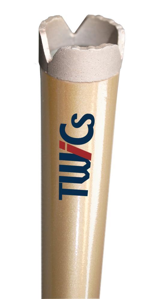 Nye borkroner fra Nimbus gir raskere hullboring - Produkt 1