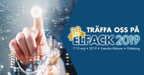 Bergendahls El ställer ut på Elfack 2019