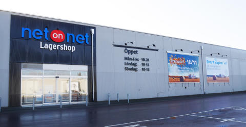 NetOnNet öppnar ytterligare två nya Lagershopar