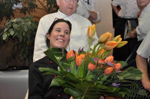 Souschef Jennifer Barker på Sigtunahöjden vinnare i kocktävling