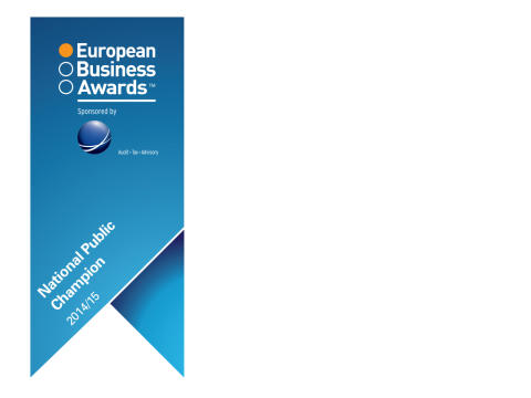 EET Europarts wins the title of National Public Champion for Denmark in the 2014/2015 European Business Awards