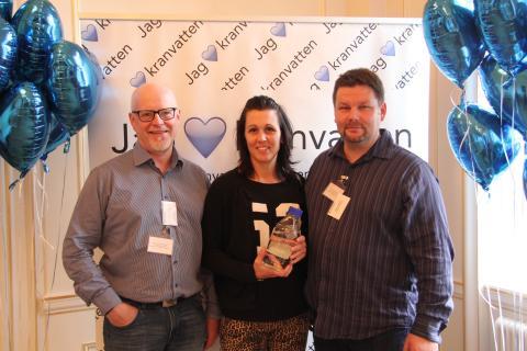 Arvidsjaur finalister i Kranvattentävlingen 2015