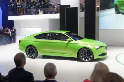 SKODA viser nyt bildesign på Geneva Motor Show 2014