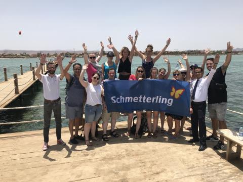 Das Venedig Ägyptens –  Schmetterling International gemeinsam mit FTI Touristik in El Gouna