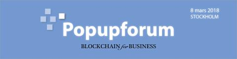 BLOCKCHAIN for BUSINESS (Popupforum)