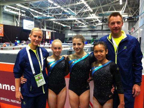 Svenska gymnastikframgångar vid EYOF i Utrecht