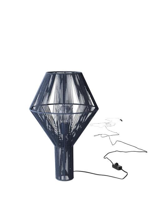 Spinn golvlampa av Sabina Grubbeson - Indigo blå