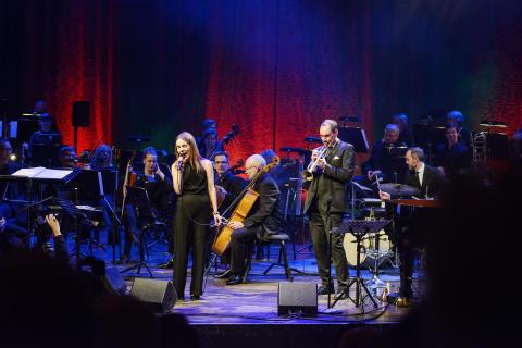 Nordiska Kammarorkestern och jazzsångerskan Isabella Lundgren på turné