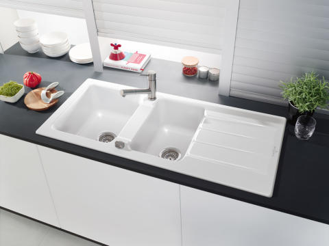 Classic design with a contemporary twist – Architectura: new large ceramic sink for 80 cm base units