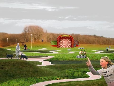 Invigning av Angereds nya stadspark