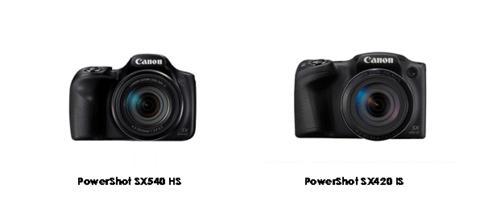 Kom nærmere med Canons nye kompakte superzoom-kameraer PowerShot SX540 HS og PowerShot SX420 IS.