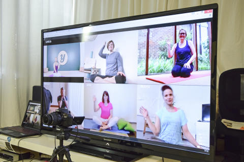 Yogaia  - The first one only interactive online yoga studio!