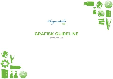 Bergendahl Food grafisk riktlinje